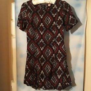 Darling Diamond-Patterned Dress (size s)